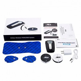 Hi-Dow FDA Approved Wireless TENS/EMS Physical Therapy Pain Management Massager