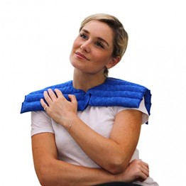 Nature Creation Upper Body Wrap for Neck And Shoulder Stiff Neck Pad Hot/Cold Therapy Pads